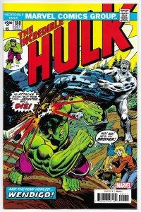 Incredible Hulk #180 Facsimile Edition | Rep 1st Cameo App Wolverine (2020) NM