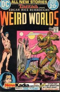 Weird Worlds (1972 series) #1, Good- (Stock photo)