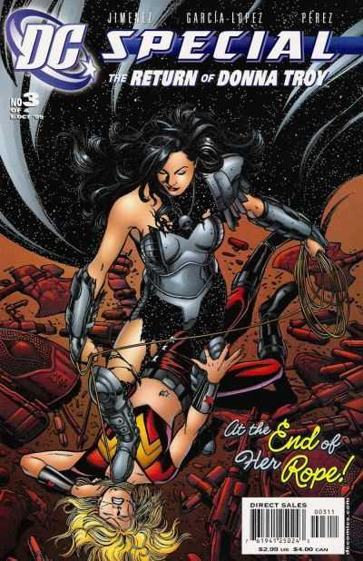 DC Special: The Return of Donna Troy #3, NM (Stock photo)