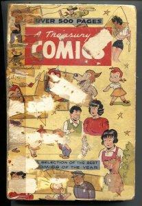Treasury of Comics #1 1948 GERBER 9! VERY RARE! Hardback-Mopsy