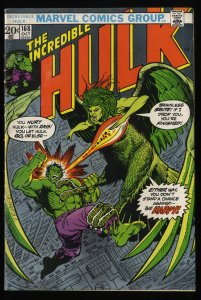 Incredible Hulk (1968) #168 VG/FN 5.0 Marvel Comics 1st Harpy!