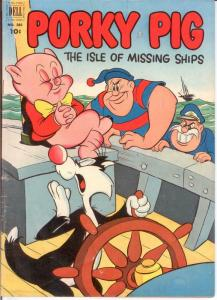 PORKY PIG (1942-1962 DELL) F.C. 385 VG April 1952 COMICS BOOK