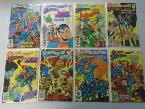 DC Comics Presents lot 30 different from #58-97 last issue avg 6.0 FN (1983-86)