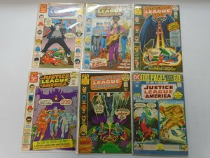 Early Bronze Justice League lot 6 different from #92-115 4.0 VG (1971-75)
