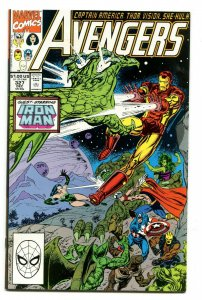 Avengers 327 NM+ 9.6 Marvel Uncertified 1990 FREE SHIP