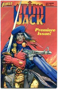 GRIM JACK #1 2 3 4 5 6 7 8 9 10-81,no 46, VF+, Tim Truman, TMNT, 1984, 80 issues
