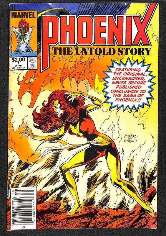 Phoenix the Untold Story #1  Wrap Around cover! Fate of the Phoenix!