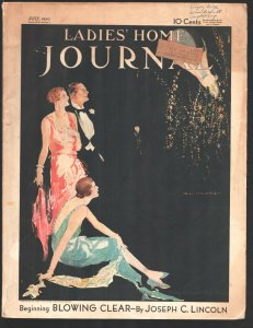 Ladies' Home Journal 7/1930-Mary Wilson Preston-Cinema of Tomorrow-Norman Roc...