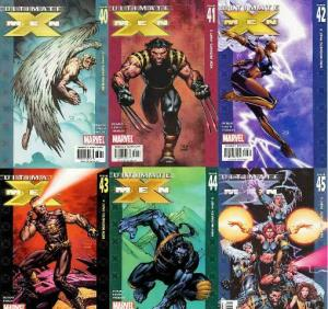 ULTIMATE X MEN (2001-2009) 40-45  New Mutants
