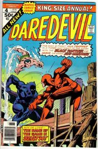 DAREDEVIL ANN  4 (1976) F-VF Black Panther, Submariner COMICS BOOK