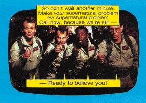 1989 Topps Ghostbusters #38 Ready To Believe You!