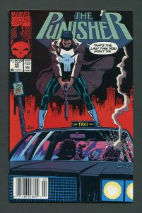 Punisher #45 / 9.0 VFN/NM - 9.2 NM-  Newsstand February 1991