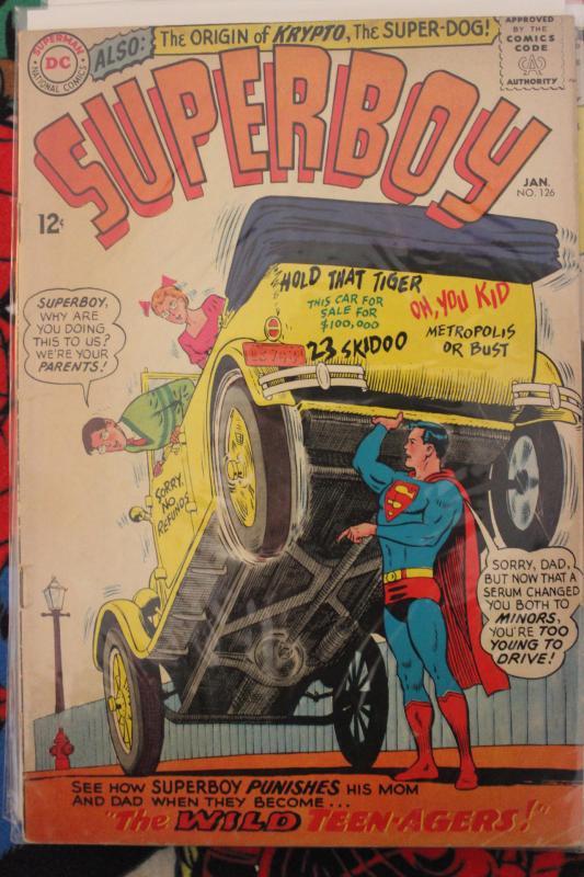 Superboy 126 VG