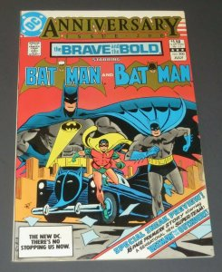 Brave and Bold #200 FN/VF White Pages DC Comic Book 1st App. Batman/Outsiders