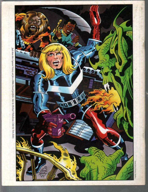 Jack Kirby Collector #12 1996-Kirby art and info-Byrne-Marv Wolfman-VF