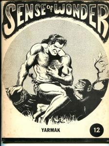 Sense of Wonder #12 1972-Bill Schelly-Yarmak-Don Newton-Kirby-Wertham-FN-