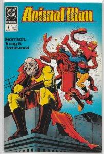 Animal Man   vol. 1   # 7 VG