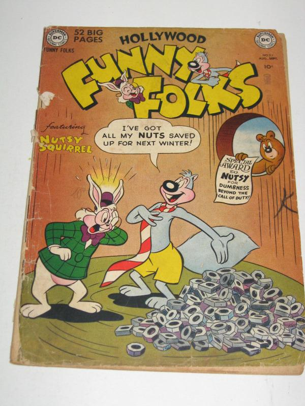 Hollywood Funny Folks #27 (Aug-Sep 1950, DC) - Good Condition
