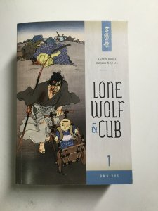 Lone Wolf And Cub Omnibus 1 One Tpb Softcover Near Mint Nm Dark Horse