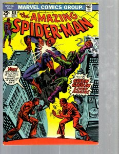 Amazing Spider-Man # 136 VF/NM Marvel Comic Book MJ Vulture Goblin Scorpion TJ1