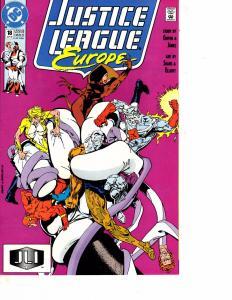 Lot Of 6 Justice League Europe DC Comic Books #18 19 20 22 23 26 WT15