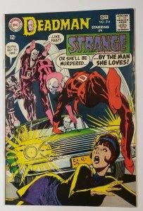 Strange Adventures #214 Deadman Neal Adams Art DC Comics Silver Age 1968 VF-