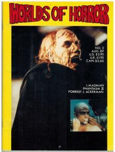 WORLDS OF HORROR 2 (1ST PRINT.) FN Aug. 1989