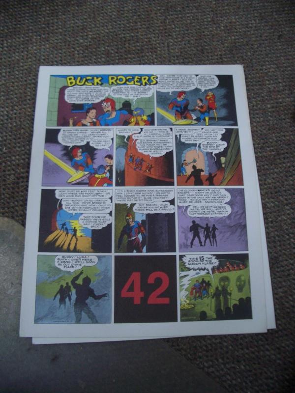 BUCK ROGERS #42-ITALIAN SUNDAY STRIP REPRINTS-CALKINS FN