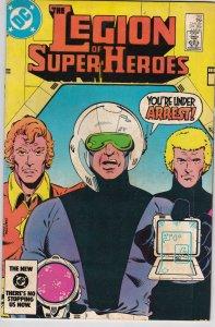 DC Comics! Legion of Super-Heroes! Issue 312!