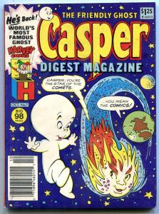 Friendly Ghost Casper Digest Magazine #1 1986- Harvey Comics VF/NM