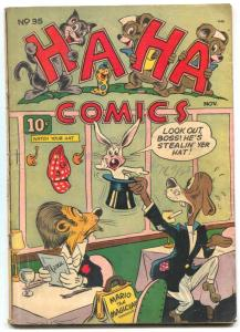 HA HA #35 1946- Golden Age Funny Animals VG-