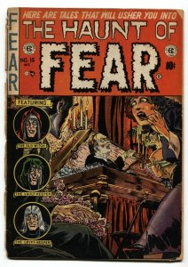 Haunt of Fear #15 1952-EC-Ingles horror cover-Kamen-Davis Evans FR/G