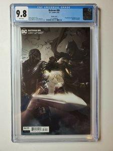 Batman 89 CGC 9.8 1st Appearance Of Punchline (Cameo) Mattina Variant Cover