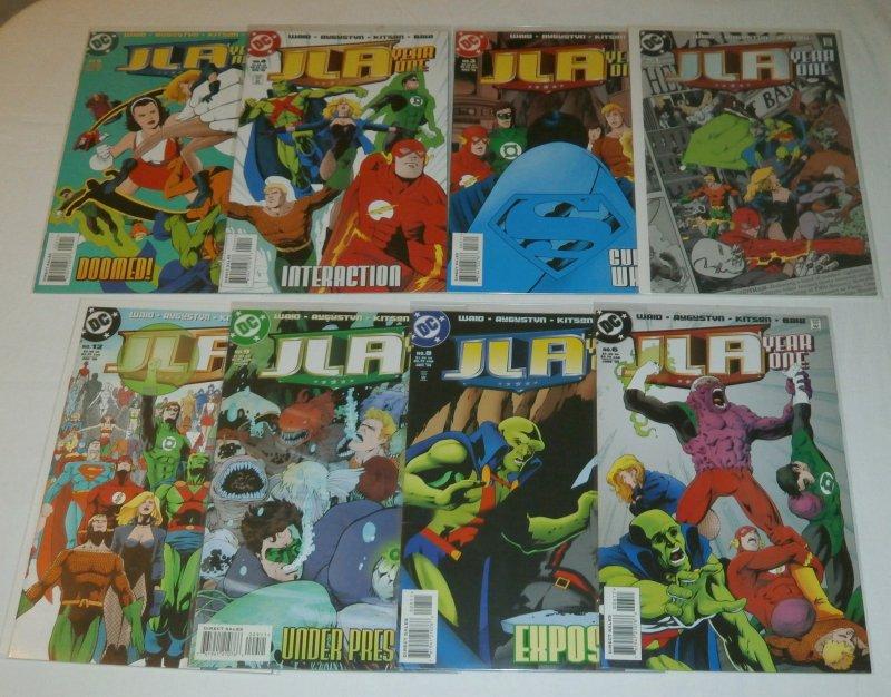 JLA  : Year One   #1,3-6,8,9,12 (set of 8) Waid/Kitson