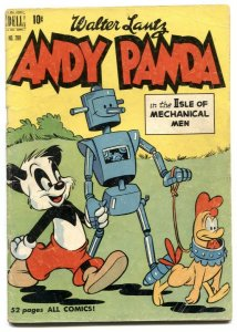 Andy Panda Isle of Mechanical Men-Four Color #280 1950-ROBOT COVER
