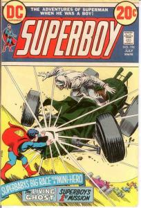 SUPERBOY 196 F-VF   July 1973 COMICS BOOK