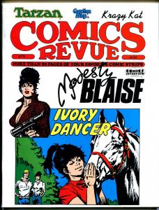 Comics Revue #73 1992-Gasoline Alley-Flash Gordon-Modesty Blaise-Romero-VF
