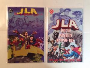 JLA World Without Grown-ups 1-2 Complete Near Mint Lot Set Run