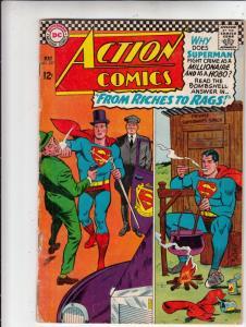 Action Comics #337 (May-66) VG+ Affordable-Grade Superman, Supergirl