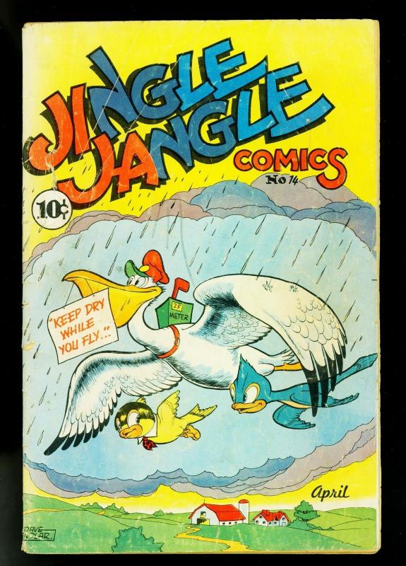 Jingle Jangle #14 1945- Famous Funnies- Funny Animals- G+