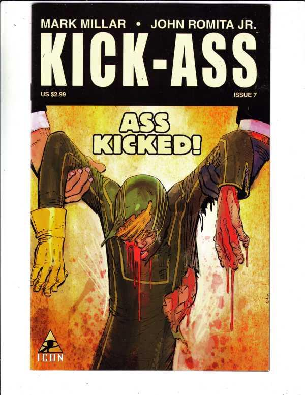 Kick Ass #7 (Oct-09) NM- High-Grade Kick Ass