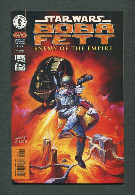 Star Wars Boba Fett #1  / 9.6 NM+ - 9.8 NM-MT  / January 1999