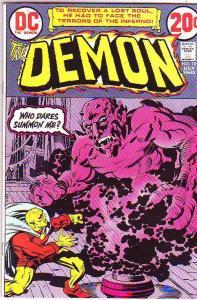 Demon, The #10 (Jul-73) NM- High-Grade Jason Blood, Merlin