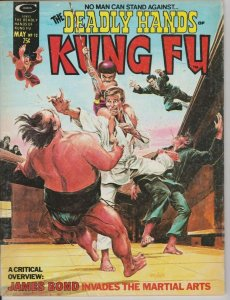 DEADLY HANDS OF KUNG FU #12 1975 MARVEL / NEAL ADAMS JAMES BOND COVER
