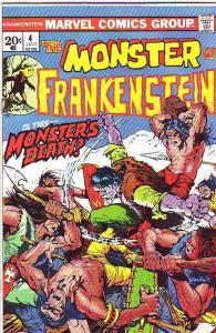 Frankenstein, the Monster of #4 (Jul-73) VF/NM- High-Grade Frankenstein