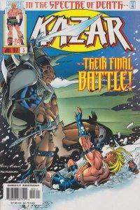 Ka-Zar (1997 series) #3, NM- (Stock photo)