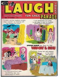 LAUGH PARADE VOL.13 #6 VG- Dec. 1973 Mooney PUSSYCAT