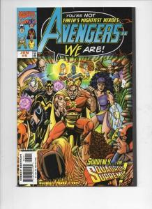 AVENGERS #5, NM, Captain America, Thor, 1998, more Marvel in store