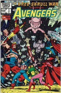 The Kree-Skrull War Starring the Avengers #2 Neal Adams NM