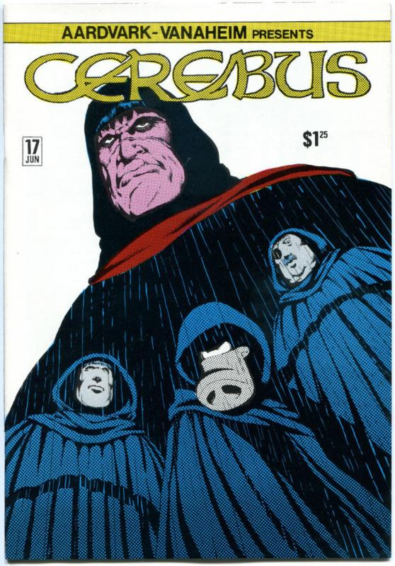 CEREBUS the AARDVARK #17, NM-, Dave Sim, 1977, more in store, QXT